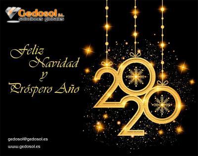 Felices Fiestas y Próspero Año 2020